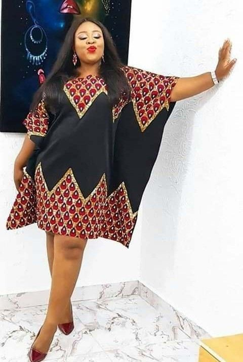 AFRICAN Dress easy (omotola) gown