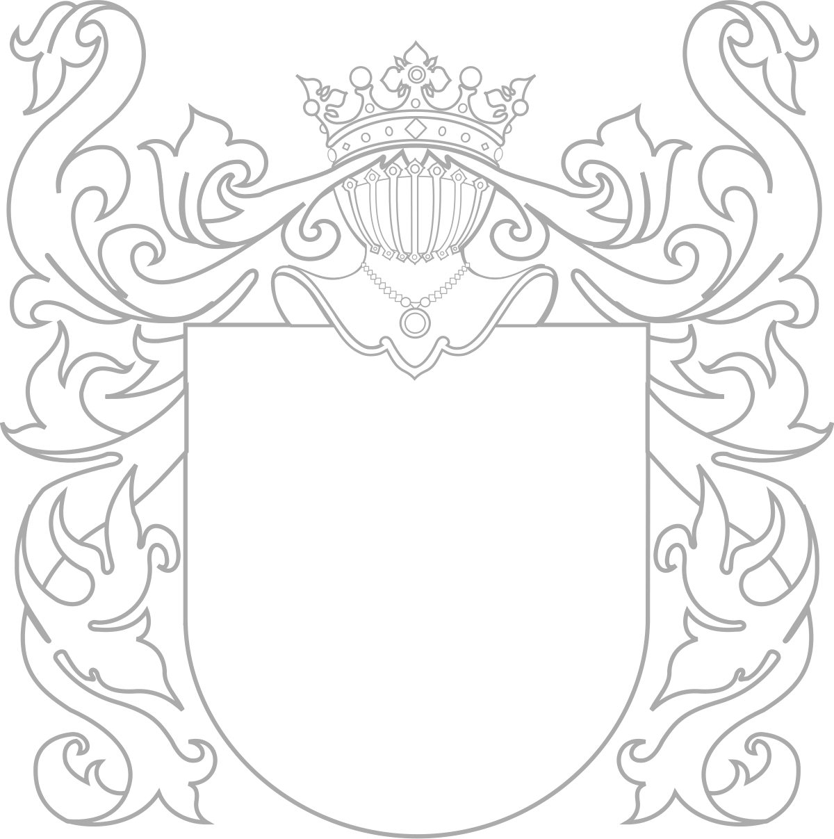 Fancy Coat Of Arms Template Google Search Family Crest Template Medieval Banner Coat Of Arms