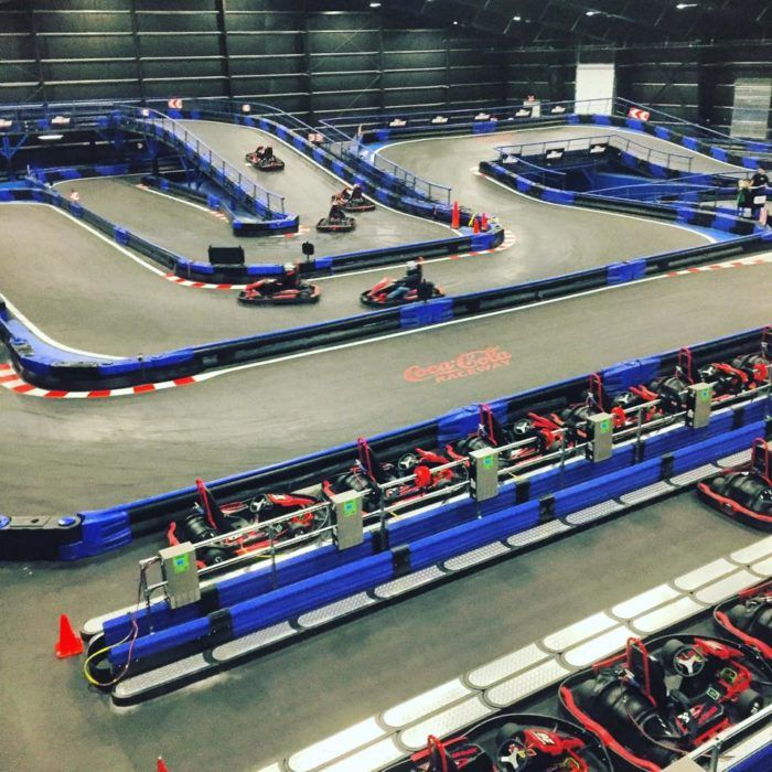 The World\'s Largest Indoor Karting Track Is Right Here In ...