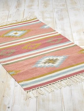 Finest tapis ethnique en coton maison vetement et dco cyrillus with tapis ethnique ikea - Tapis fibre naturelle ikea ...