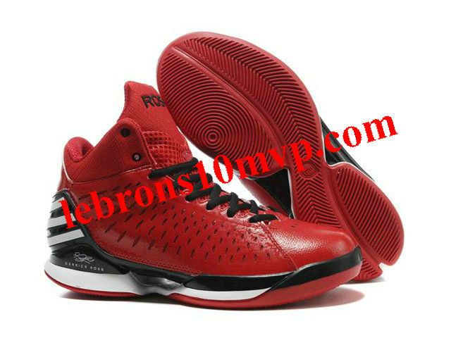 4566fcc32efb Adidas AdiZero Rose 3.0 Shoes Red Black