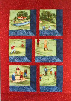Golfers Attic Window Quilt | Quilts and patchwork | Pinterest ... : golf quilt patterns - Adamdwight.com