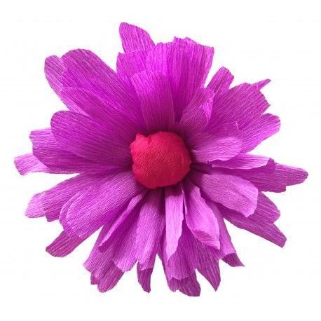 Starter kit beach flowers cr ation fleurs pinterest - Fleur en crepon ...
