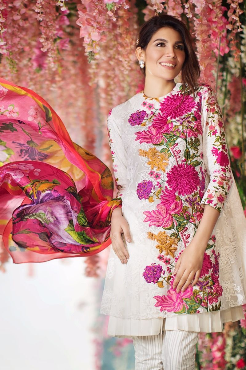 Sana Safinaz MAR17-03B Spring Summer Lawn 2017 Price in ...