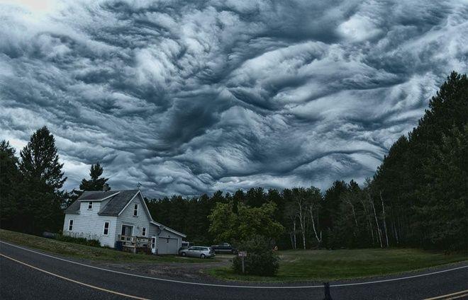 Ужасающая мощь природы: облака асператус - KP.UA