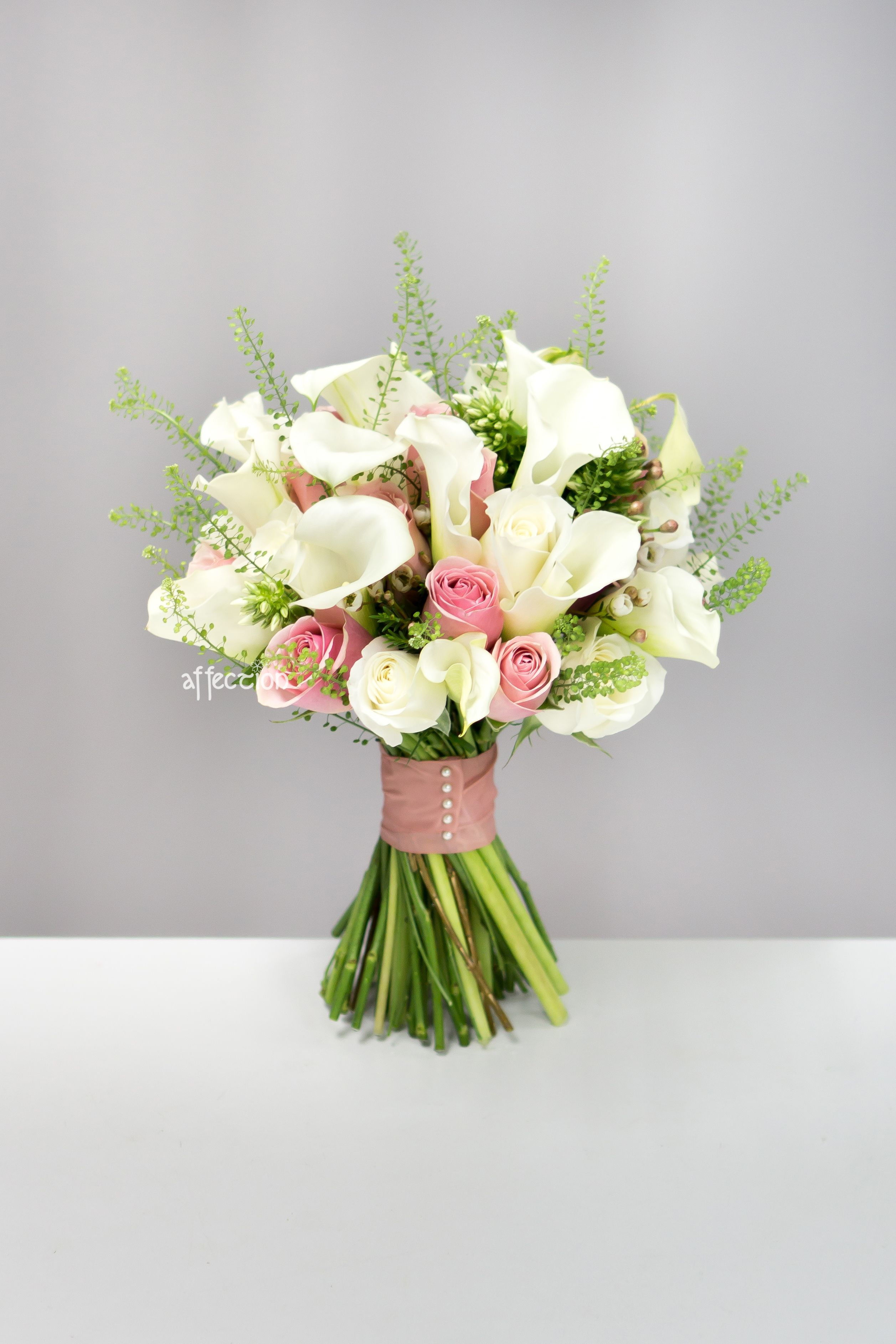 Fresh Flower Wedding Bouquet Mariage