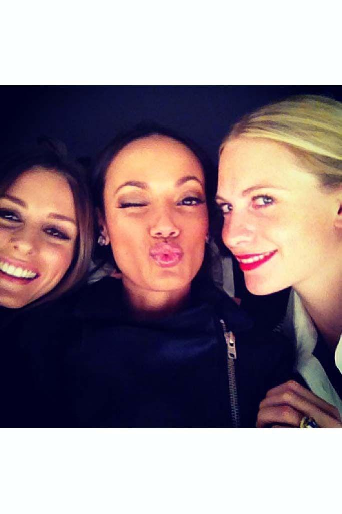 Olivia, Slita y Poppy in #NYFW por #glamourmag NY Fashion Week contada por las fashion insiders