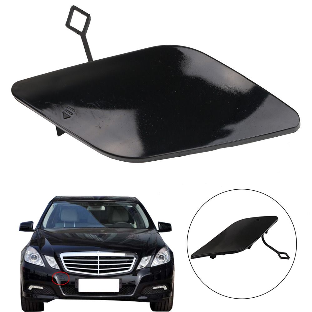 Car Front Bumper Towing Hook Eye Cover Cap For Mercedes Benz Mb E