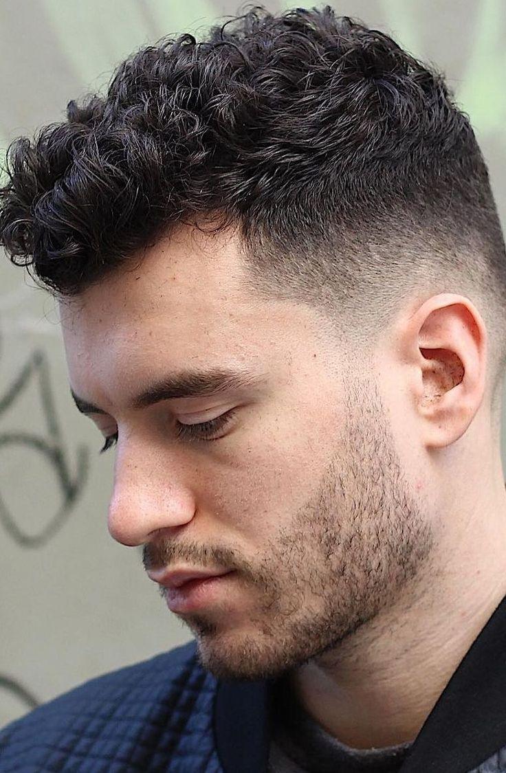 Fade Haircut Styles Men Haircuts Curly Hair Men Mens Hairstyles Fade Fade Haircut