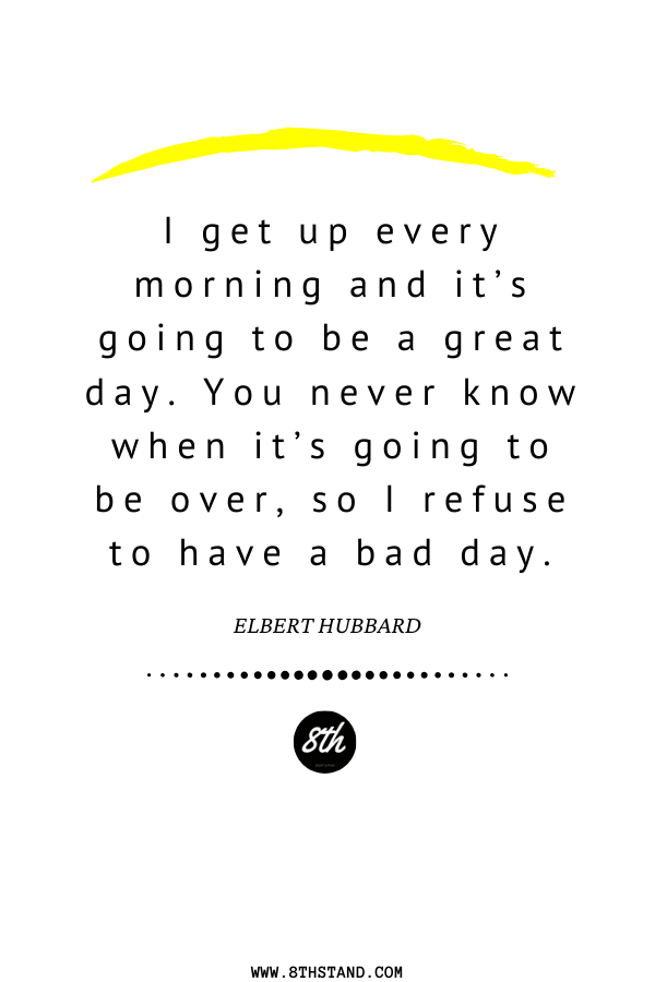 Live to the fullest! #MorningQuotes #DailyQuotes #Staypositive