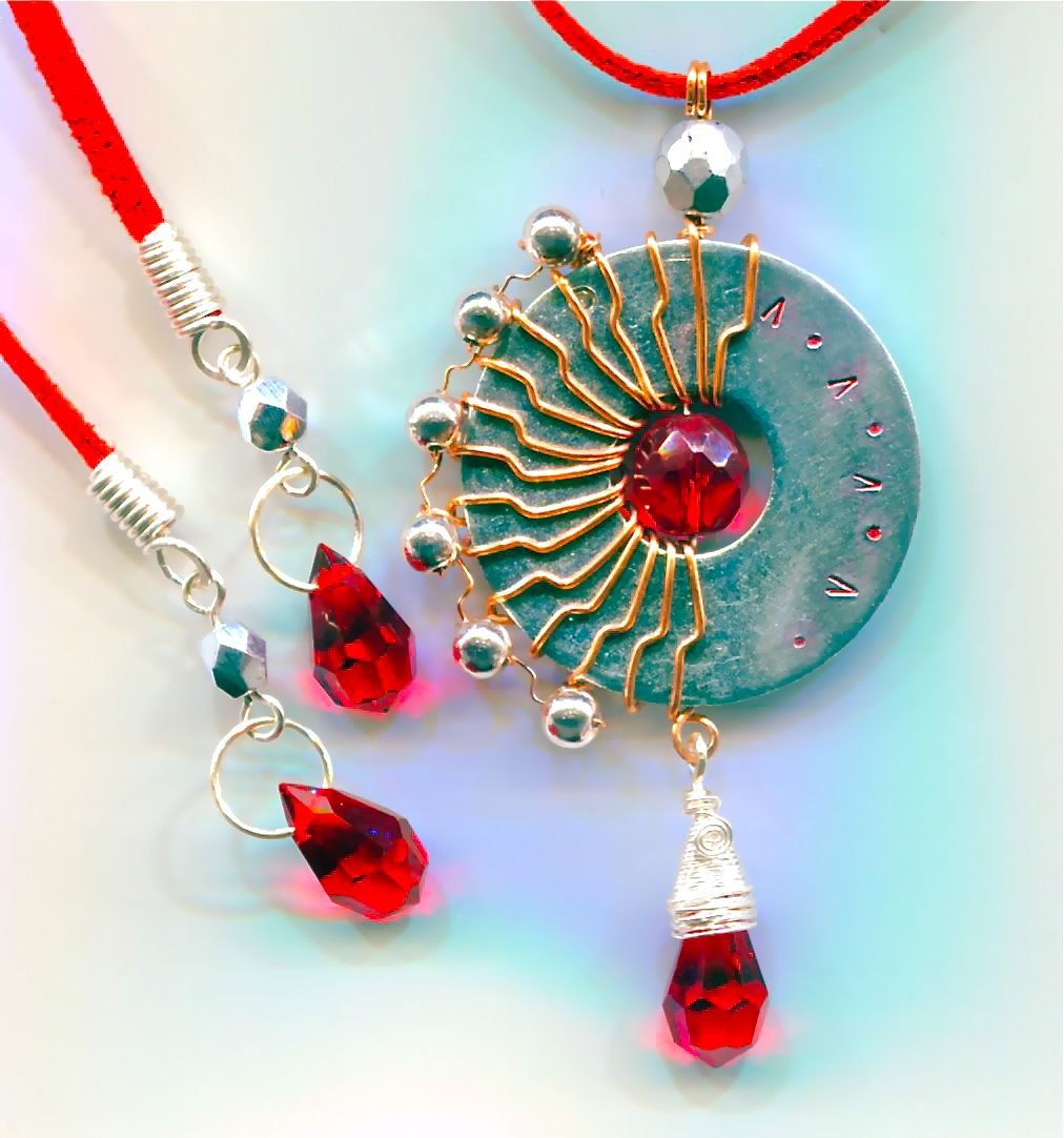 You can create wire jewellery out of almost ANYTHING that takes your ...