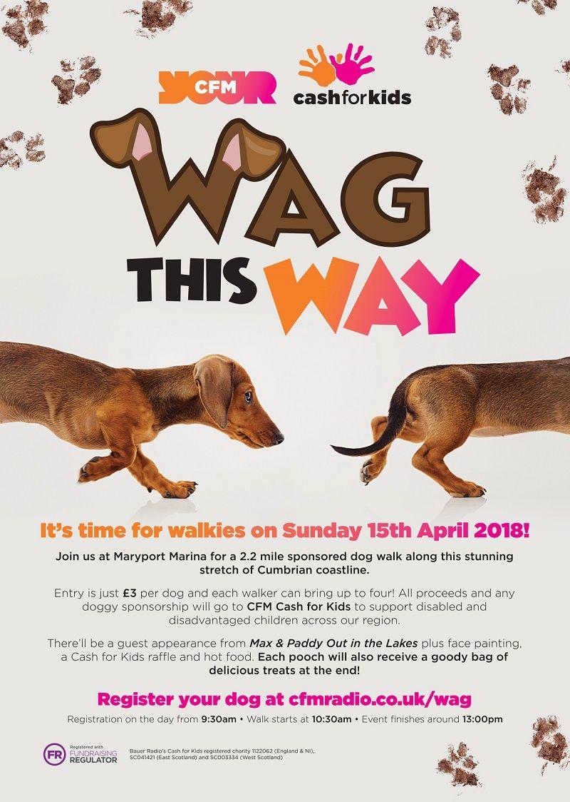 Cfm Cash For Kids Sponsored Dog Walk In Maryport Dog Walking Animal Rescue Fundraising Animal Shelter Volunteer