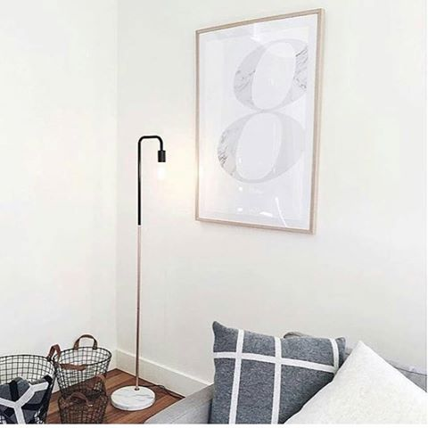 The Kmart Marmo Floor Lamp! This Looks Amazing! Repost @lexi_boo_harpy_doo