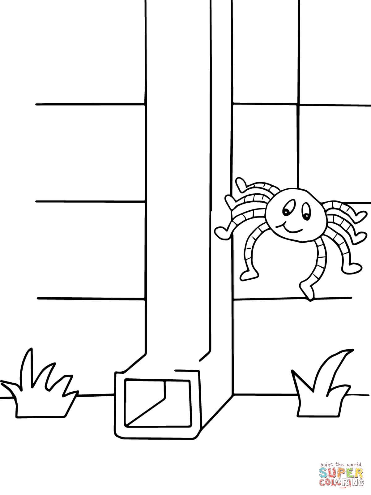 Itsy Bitsy Spider Super Coloring Nursery Rhymes