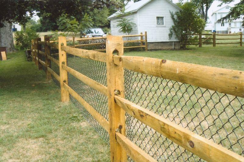 Split Rail Fence Pittsburgh Ornamental Aluminum Fences In