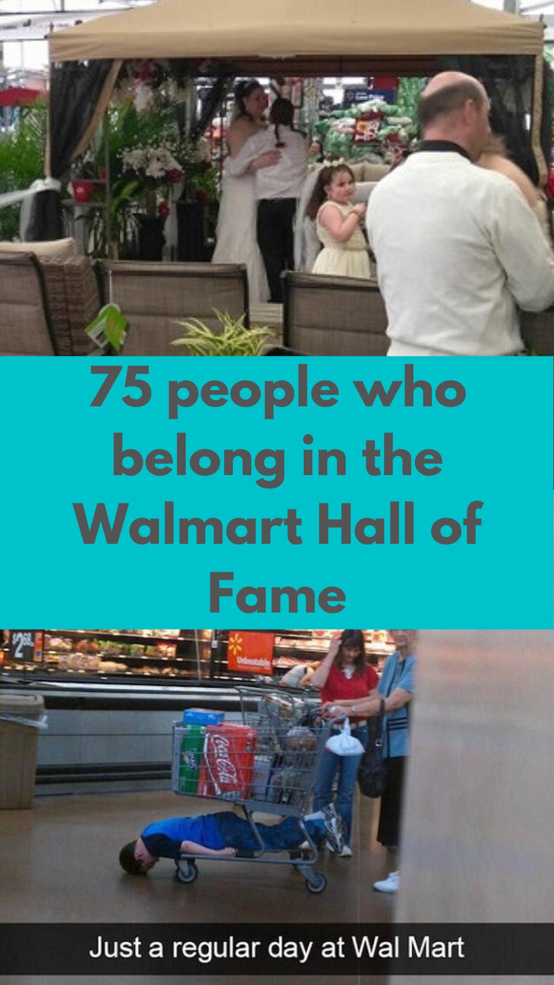 75 People Who Belong In The Walmart Hall Of Fame Good Jokes Wallmart People Fun Facts