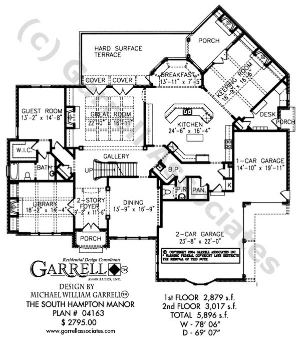 traditional style house plan with keeping room great room and covered porch - House Plans With Keeping Room