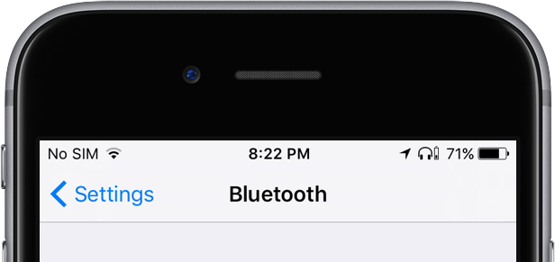 What Do Status Icons Mean In The Status Bar Of The Iphone Ipad Icon Meaning Iphone Icon