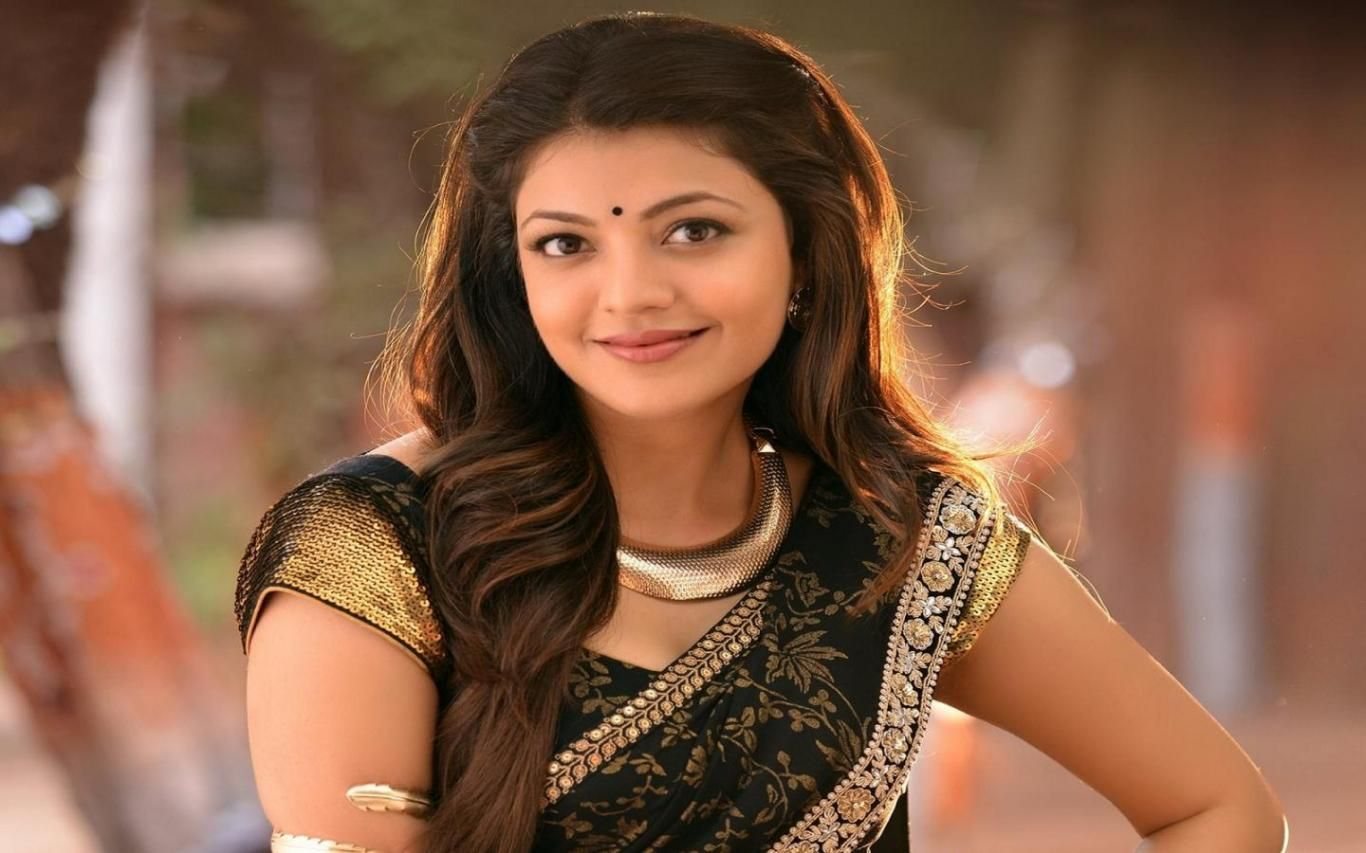 download kajal agarwal latest photos in saree wallpaper hd free