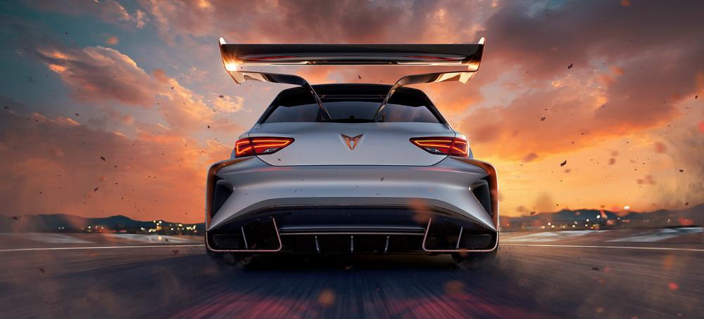 Cupra E Racer On Behance