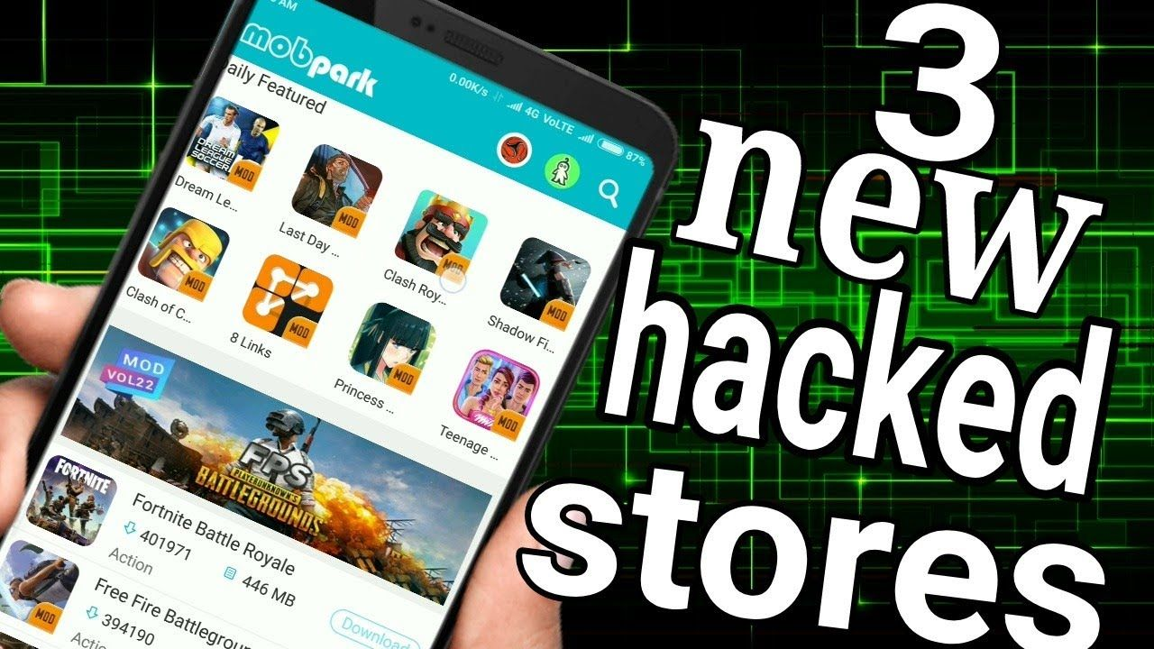 Top 3 mod app stores ( Hindi) androidAndroid apkgame
