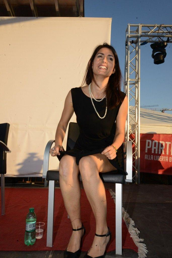 589e8612717 Virginia Raggi vista da vicino. Tutte le foto di Umberto Pizzi alla festa  del Fatto Quotidiano - Formiche.net