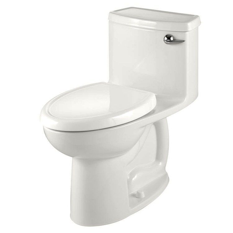 Cadet 3 Flowise Compact Right Height Elongated 1 Piece Toilet With Right Hand Lever Seat American Standard Toilet