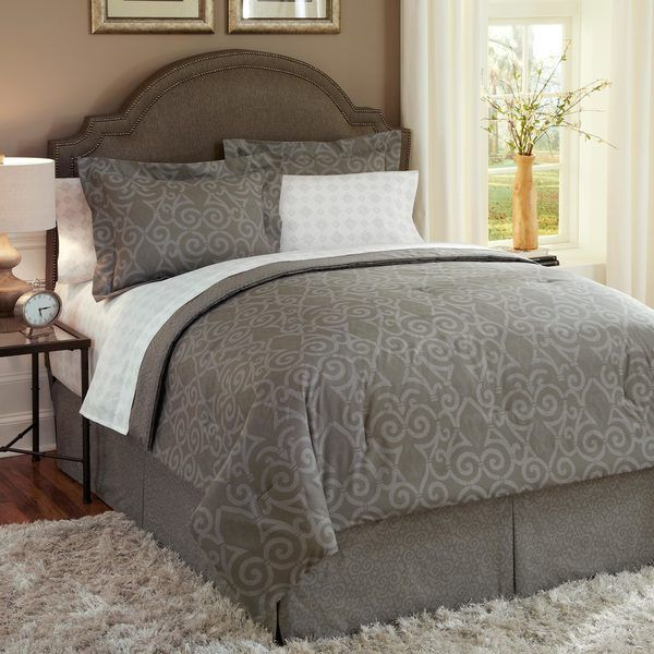 Martex Iron Gate 7-piece Bed In a Bag with Sheet Set