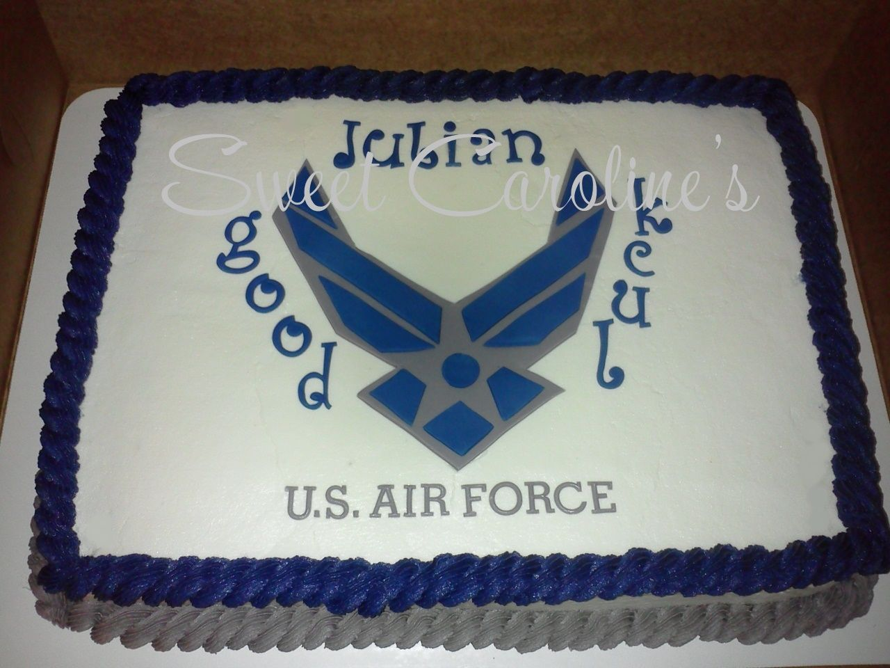 Air force cake decorations home furniture decors creating the - U S Air Force Cake