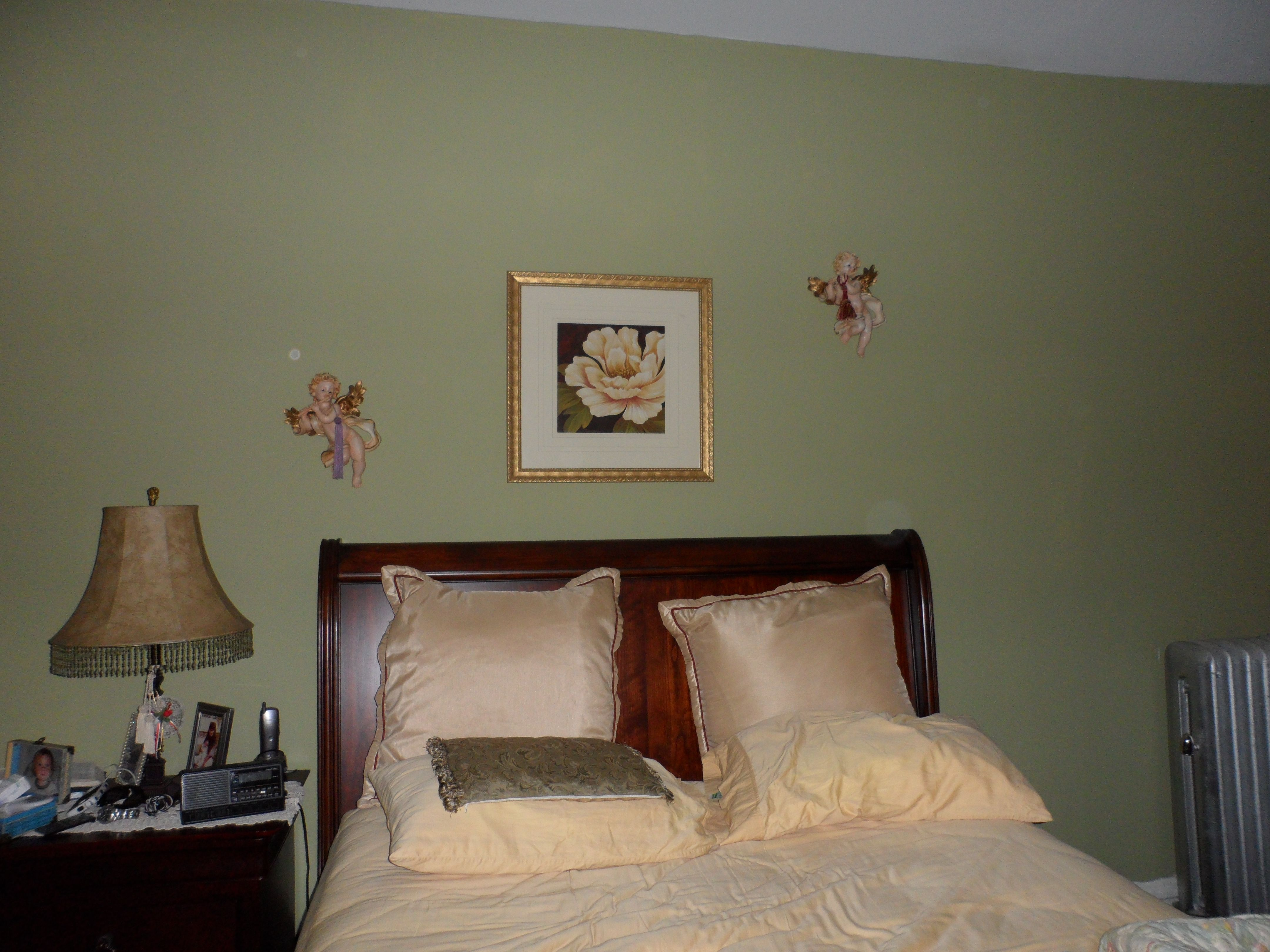 Using a Beautiful Green to decorate the