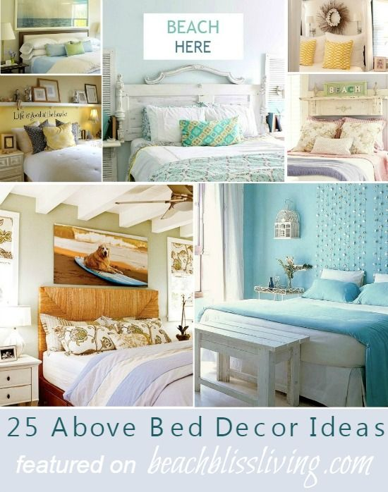awesome above the bed beach themed decor ideas beautiful bedrooms rh pinterest com