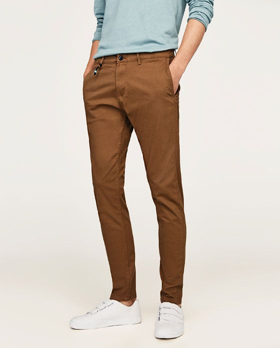 super popular nueva alta calidad precio de calle Image 2 of SKINNY FIT CHINO TROUSERS from Zara | Clothes ...