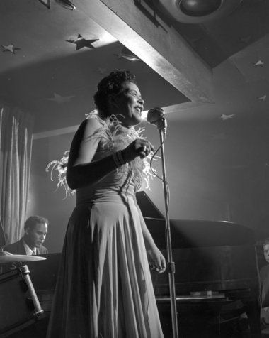 Billie Holiday at Lindsay's Sky Bar