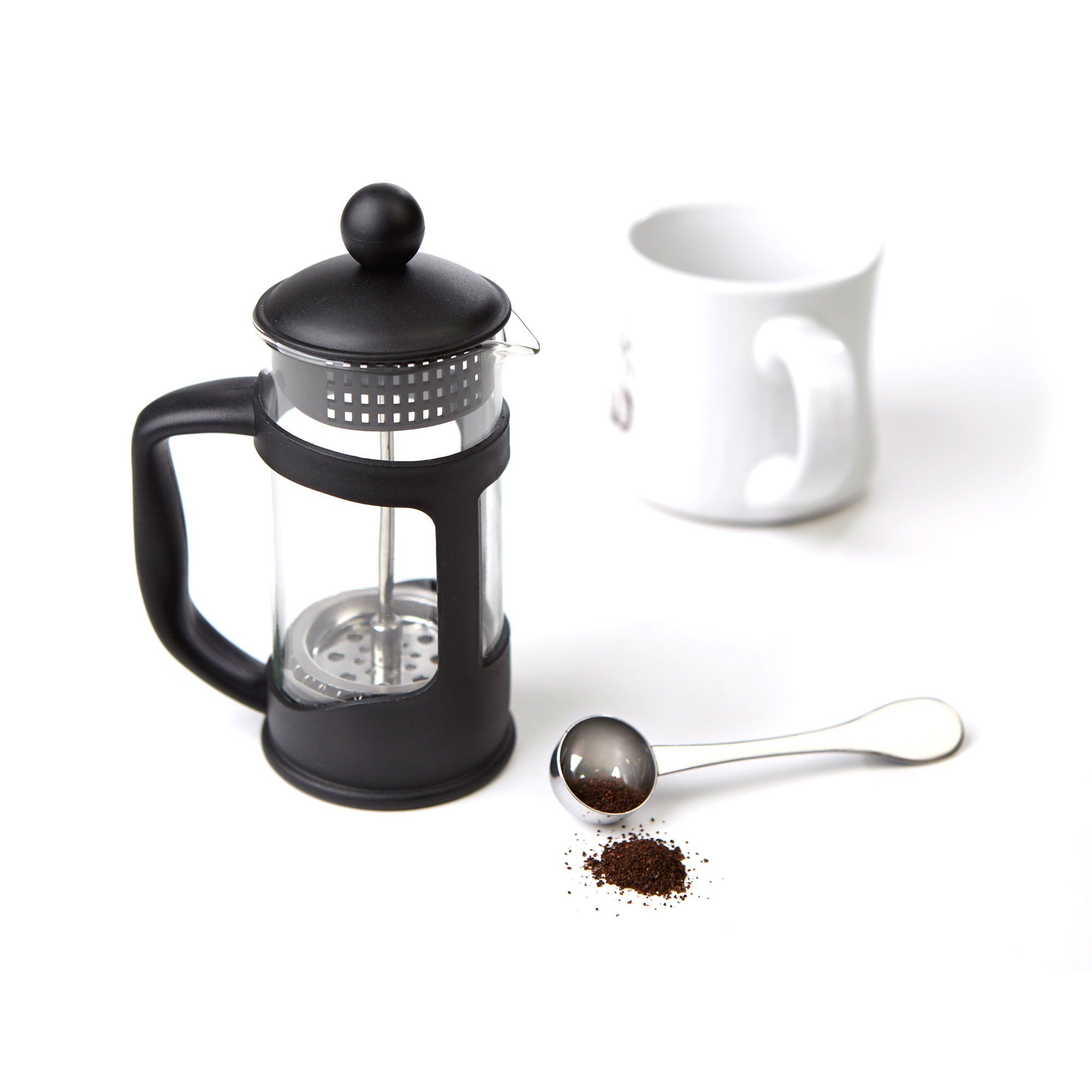 Mind Reader Single Serve French Press Coffee And Tea Maker 2 Pack