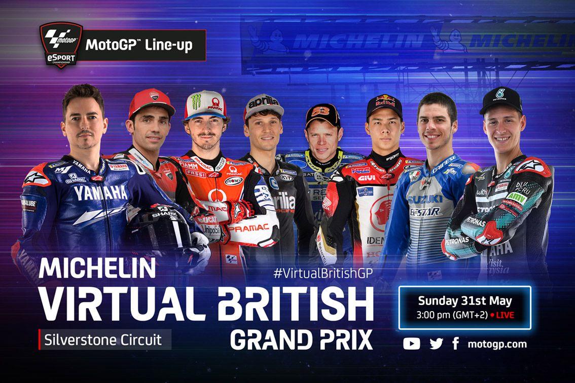 Virtual MotoGP Live BritishGP Silverstone Circuit