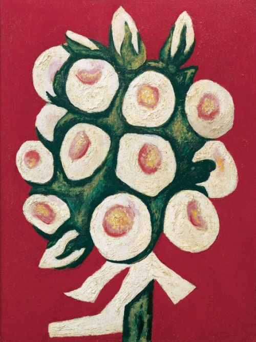 lilithsplace:  'Roses for Seagulls That Lost Their Way', 1935-36 – Marsden Hartley (1877–1943)