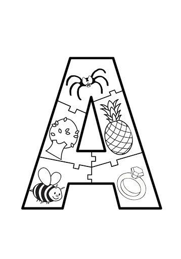 Vogal a quebra cabe a alfabeto em quebra cabe a pinterest for Mobel 9 buchstaben