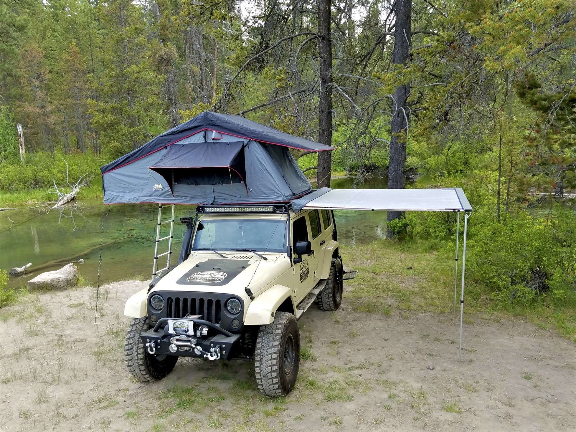 Fsr Awning 78 Wide Roof Top Tent Jeep Camping Top Tents