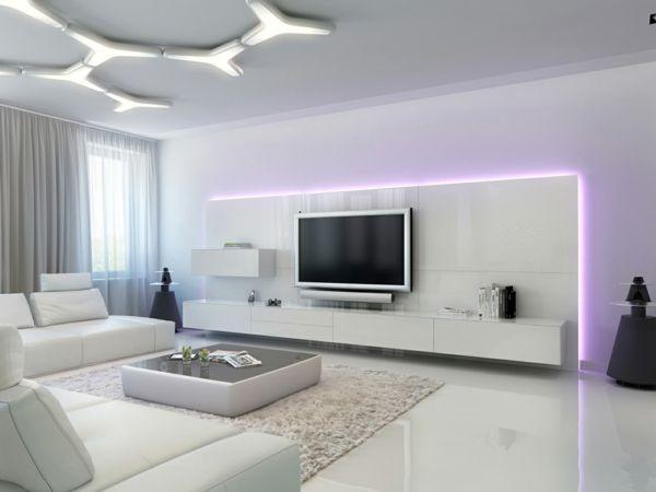 meuble suspendu salon