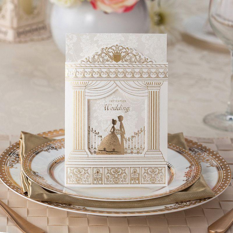 Palace Wedding Invitations