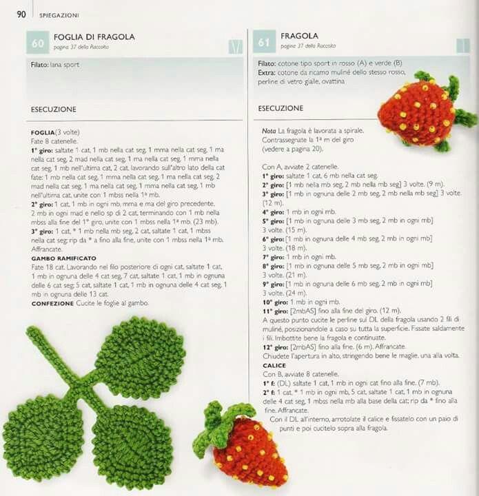 Fragola | ideas | Pinterest | Crochet, Crochet christmas trees and ...