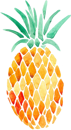 Image result for yellow pineapple aesthetic