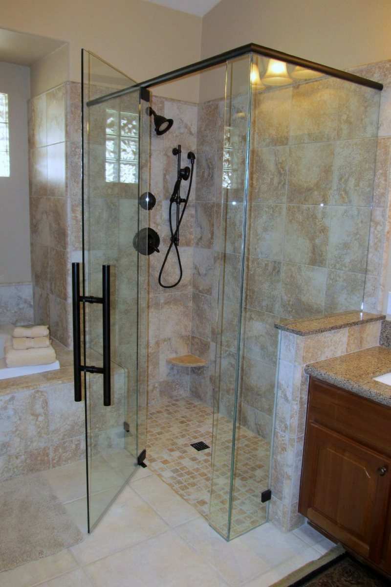 Home Interior Design And Home Decorating Glass Shower Doors Glass Bathroom Glass Shower Enclosures