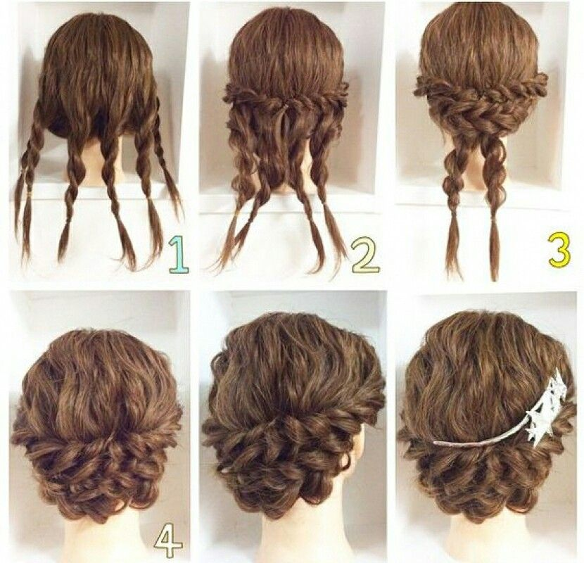 For Curly Hair Updos For Any Formal Occasion Quick And Easy Hair Styles Long Hair Styles Hairstyle