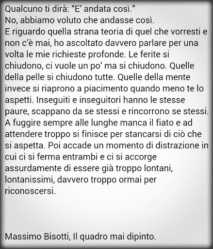 Massimo Bisotti Il Quadro Mai Dipinto Citazioni Libri