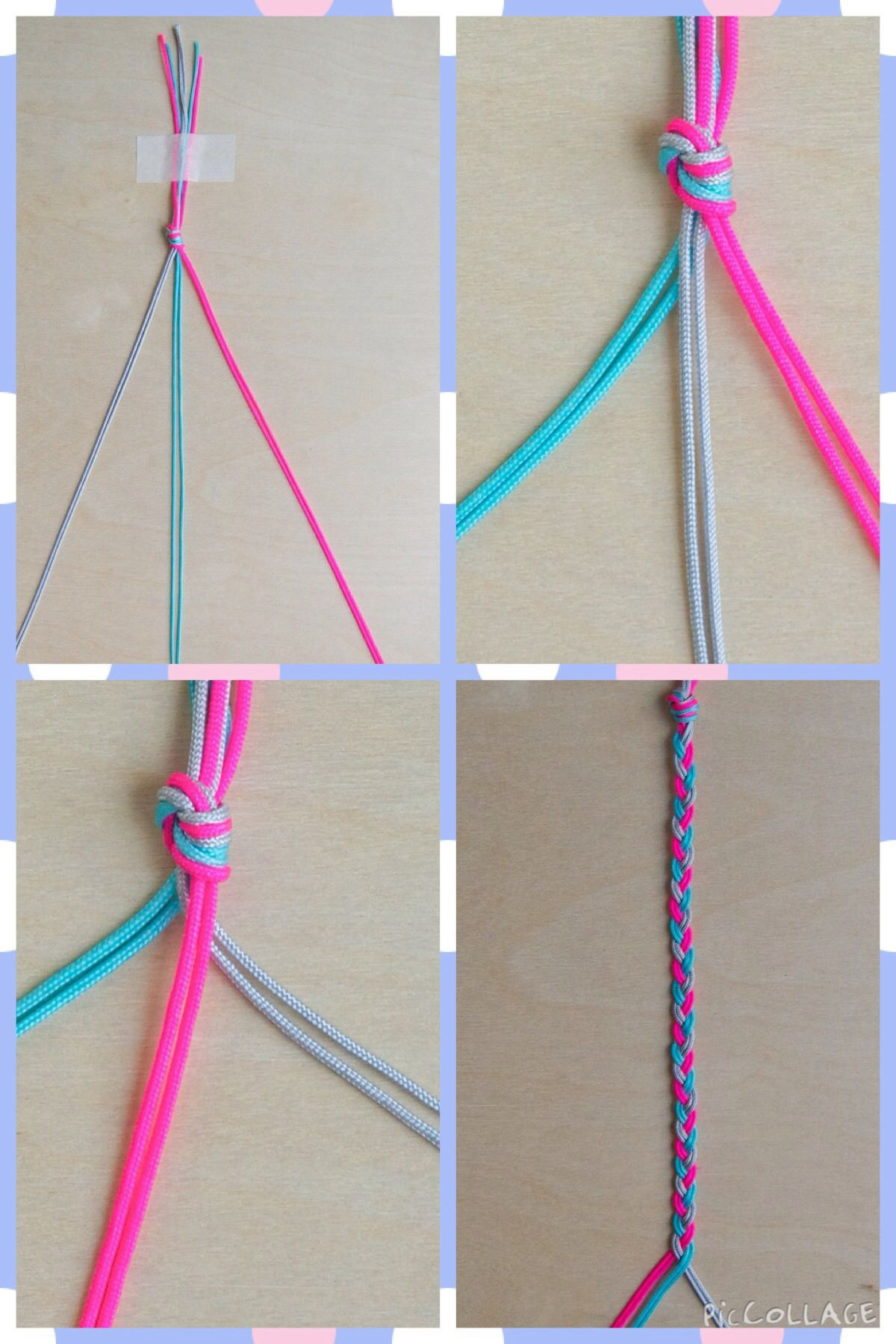 Braided Friendship Bracelets for Valentine's Day how to edited 6004  craftIdea org is part of Braided friendship bracelets -