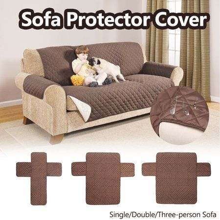 Reversible Quilted  Pet Dog Children Kids Furniture Protector Slip Cover New