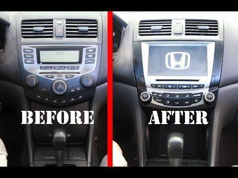 The Best Car Stereo Radio Replacement Upgrade For 2003 2007 Honda Accord 7   Seicane Radio Review   YouTube