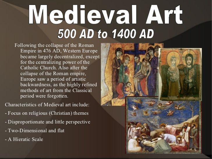 Periods Of Art Medieval Artwork Medieval Art Art
