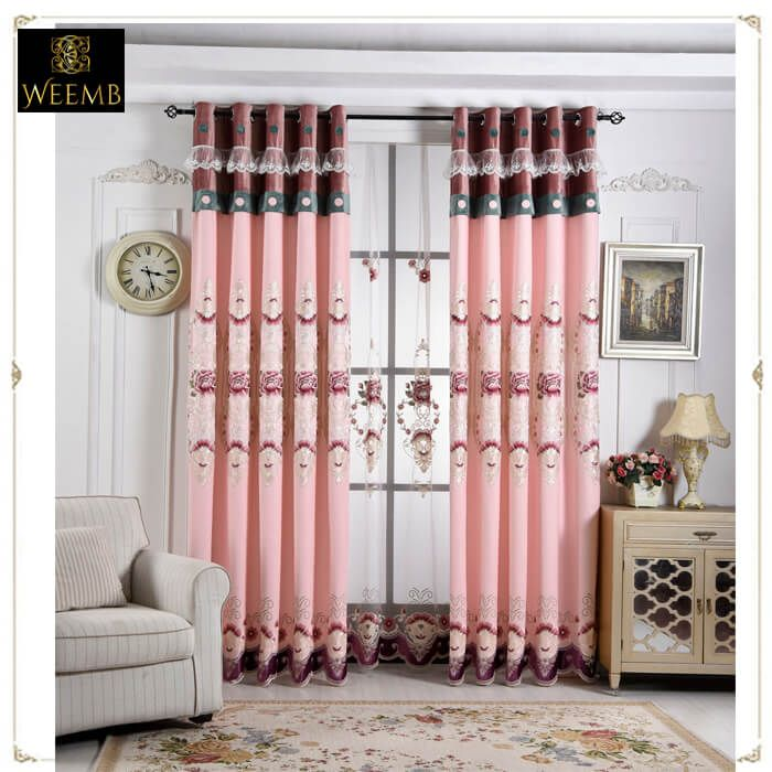 Pink curtains for girl\'s room | Curtain, blinds company | Pinterest ...